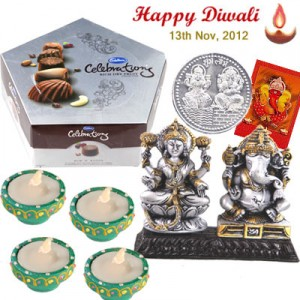 Send Dhanteras Silver Gifts to India